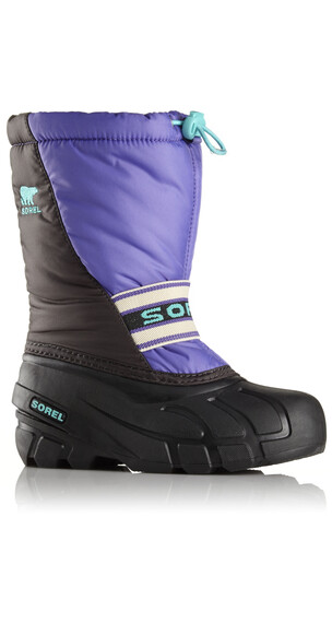 Sorel Cub Boots Youth purple arrow / shark